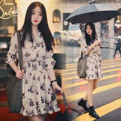 Đầm Hoa Dễ Thương Thời Trang Hàn DN015 MULAN Fashion