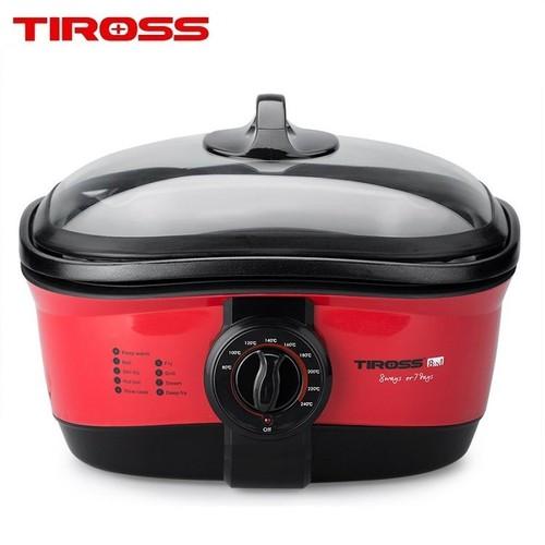 Nồi đa năng 8 trong 1 Tiross TS902 - Đỏ - 4642161 , 17163880 , 15_17163880 , 1400000 , Noi-da-nang-8-trong-1-Tiross-TS902-Do-15_17163880 , sendo.vn , Nồi đa năng 8 trong 1 Tiross TS902 - Đỏ