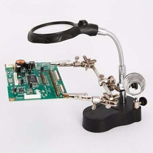 Kính lúp soi kẹp hàn mạch điện tử có 2 đèn led - 7443167 , 17174282 , 15_17174282 , 129000 , Kinh-lup-soi-kep-han-mach-dien-tu-co-2-den-led-15_17174282 , sendo.vn , Kính lúp soi kẹp hàn mạch điện tử có 2 đèn led
