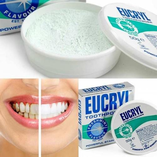 Bột Tẩy Trắng Răng Eucryl Tooth Powder - 7408405 , 17160707 , 15_17160707 , 39000 , Bot-Tay-Trang-Rang-Eucryl-Tooth-Powder-15_17160707 , sendo.vn , Bột Tẩy Trắng Răng Eucryl Tooth Powder