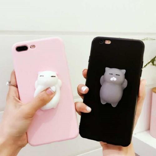 Ốp Lưng iphone 7 Plus - Ốp lưng Mochi Thú Dẻo