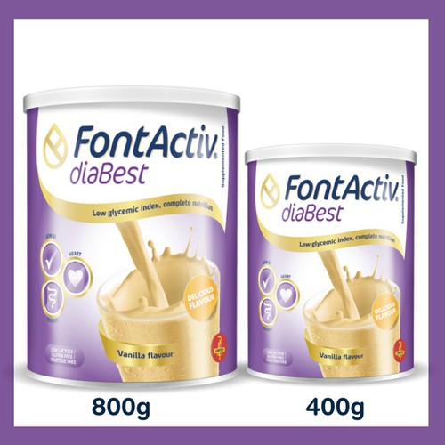 FontActiv Diabest 800gr - Sữa Bổ Sung Dinh Dưỡng Cho Người Đái Tháo Đường