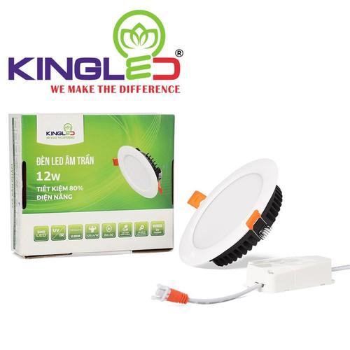Đèn Led Downlight Kingled 12W đổi màu DL-12-T140-DM