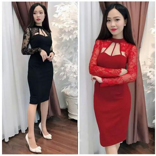 Đầm ôm xinh tsi