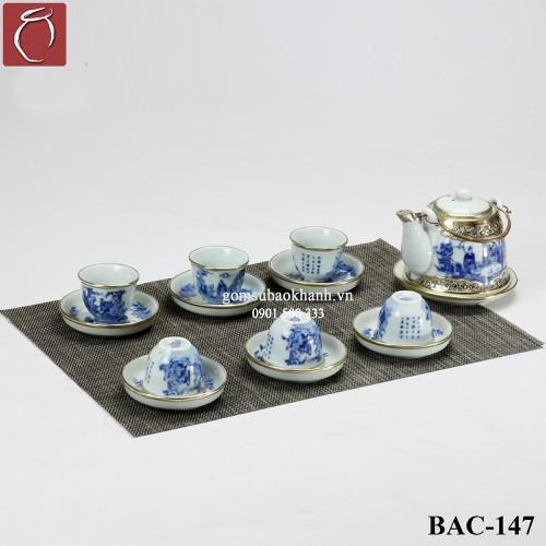 Bộ ấm chén men lam giả vuốt bọc đồng cao cấp gốm sứ Bảo Khánh Bát Tràng - bộ bình uống trà cao cấp - 7401785 , 17157925 , 15_17157925 , 1040000 , Bo-am-chen-men-lam-gia-vuot-boc-dong-cao-cap-gom-su-Bao-Khanh-Bat-Trang-bo-binh-uong-tra-cao-cap-15_17157925 , sendo.vn , Bộ ấm chén men lam giả vuốt bọc đồng cao cấp gốm sứ Bảo Khánh Bát Tràng - bộ bình u