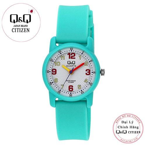 Đồng hồ trẻ em Q&Q Citizen VR41J004Y dây nhựa thương hiệu Nhật Bản