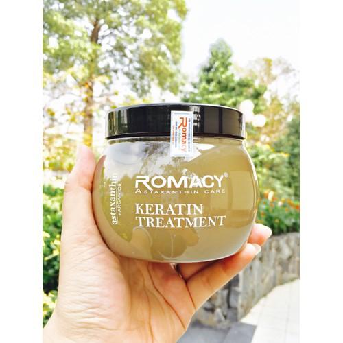 Hấp dầu siêu phục hồi tóc ROMACY ASTAXANTHIN ARGAN OIL 500ml