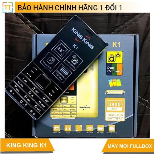 Điện thoại KING KING K1 3 Sim 3 sóng màn hình lớn  - Bảo hành 12 tháng - 7464797 , 17183046 , 15_17183046 , 399000 , Dien-thoai-KING-KING-K1-3-Sim-3-song-man-hinh-lon-Bao-hanh-12-thang-15_17183046 , sendo.vn , Điện thoại KING KING K1 3 Sim 3 sóng màn hình lớn  - Bảo hành 12 tháng