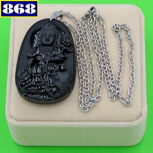 Dây chuyền Phổ Hiền Bồ Tát 6 cm DITTES2 hộp nhung