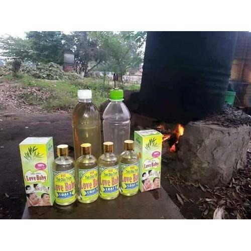 Bộ 3 chai dầu tràm Love Baby 100ml