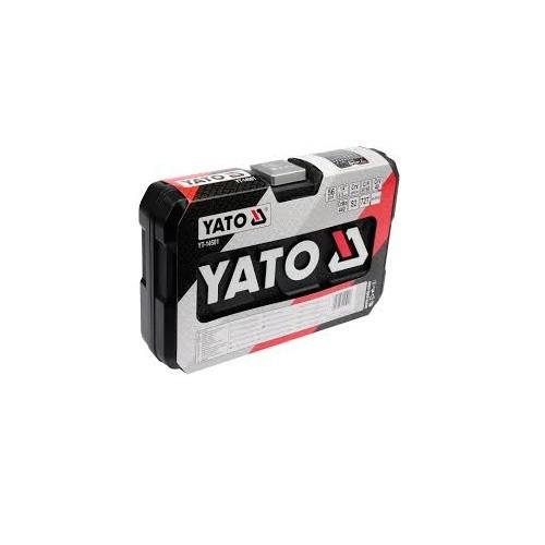 Bộ tuýp tay vặn tổng hợp 1-4 inch 56 chi tiết Yato YT-14501