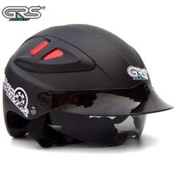 Mũ bảo hiểm chính hãng GRS A966 - mũ nửa đầu có kính giấu - nhiều màu