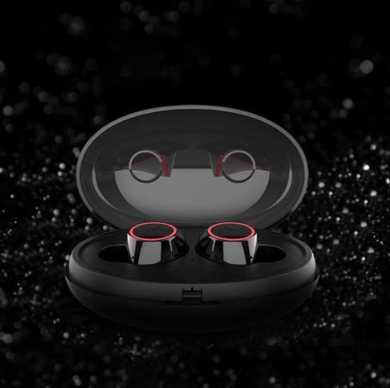 Tai nghe Bluetooth E8 nhét tai hộp đựng tích hợp sạc - Home and Garden - 1