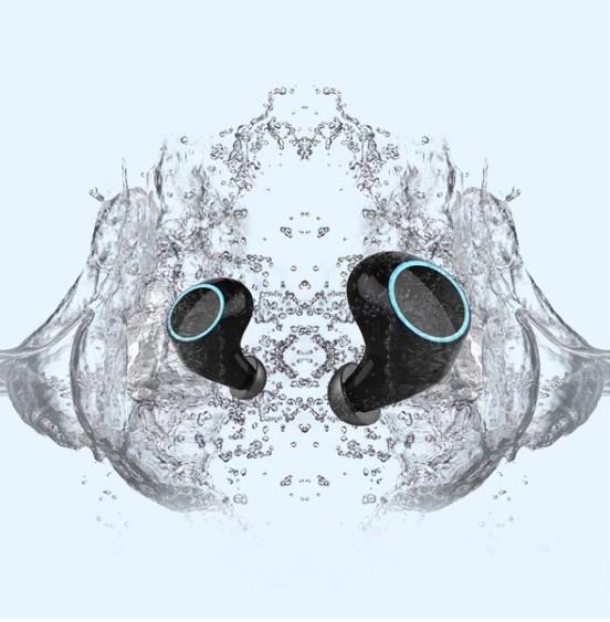 Tai nghe Bluetooth E8 nhét tai hộp đựng tích hợp sạc - Home and Garden