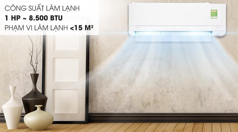 Tích hợp thêm nhiều tính năng tiện ích - Máy lạnh Toshiba Inverter 1 HP RAS-H10XKCVG-V