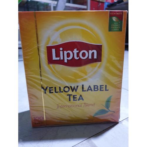 Trà Lipton Yellow Label TEA 100 gói