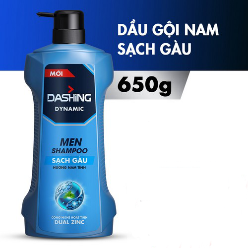 Dầu Gội Sạch Gàu Cho Nam Giới Dashing Dynamic Men Shampoo 650g - 7440140 , 17172901 , 15_17172901 , 145000 , Dau-Goi-Sach-Gau-Cho-Nam-Gioi-Dashing-Dynamic-Men-Shampoo-650g-15_17172901 , sendo.vn , Dầu Gội Sạch Gàu Cho Nam Giới Dashing Dynamic Men Shampoo 650g