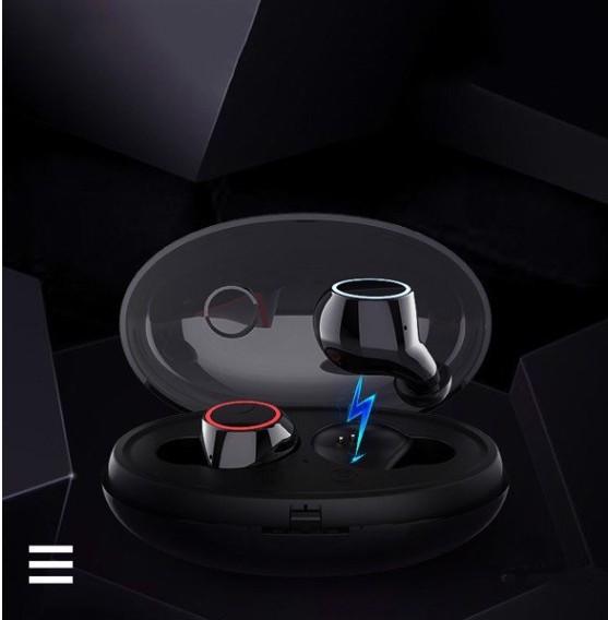 Tai nghe Bluetooth E8 nhét tai hộp đựng tích hợp sạc - Home and Garden - 6