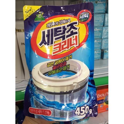 Bột tẩy vệ sinh lồng máy giặt Sandokkaebi Hàn Quốc - 7409960 , 17161498 , 15_17161498 , 55000 , Bot-tay-ve-sinh-long-may-giat-Sandokkaebi-Han-Quoc-15_17161498 , sendo.vn , Bột tẩy vệ sinh lồng máy giặt Sandokkaebi Hàn Quốc