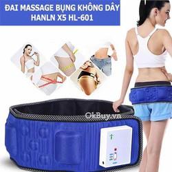 Đai massage bụng không dây pin sạc X5 HL