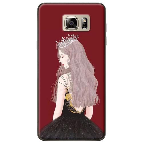 Ốp lưng  nhựa dẻo Samsung Note 5 Nữ hoàng
