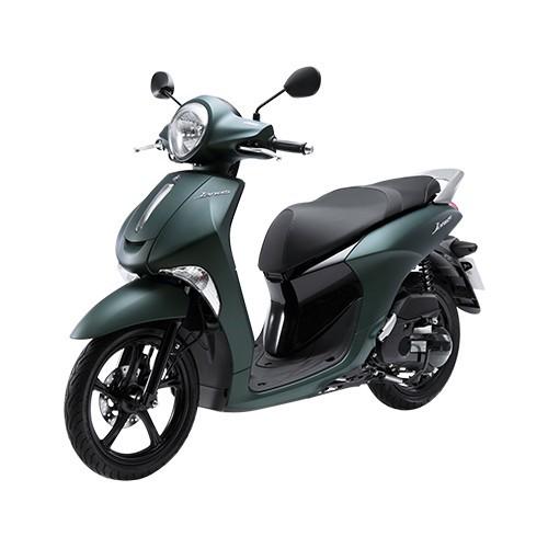 Xe Máy Yamaha Janus đặc biệt - Xanh rêu nhám