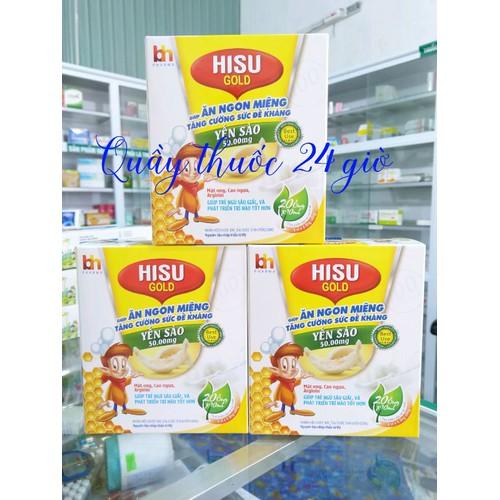 Hisu Gold giúp trẻ ăn ngon miệng-tăng cường sức đề kháng-Yến Sào 50mg - 4643944 , 17181678 , 15_17181678 , 150000 , Hisu-Gold-giup-tre-an-ngon-mieng-tang-cuong-suc-de-khang-Yen-Sao-50mg-15_17181678 , sendo.vn , Hisu Gold giúp trẻ ăn ngon miệng-tăng cường sức đề kháng-Yến Sào 50mg