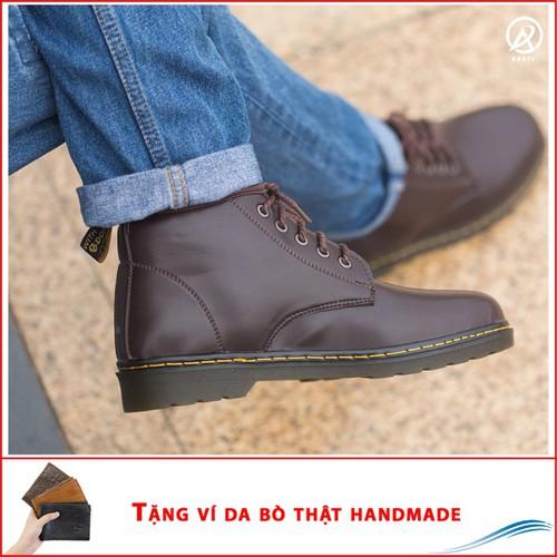 Giày Nam Đẹp|Giày Nam Đẹp Giá Rẻ|M354-NAU-030419