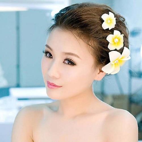 Kẹp tóc nữ hoa sứ cực xinh cho bạn gái