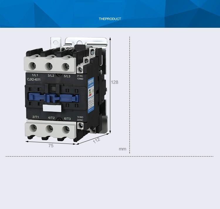 Khởi động từ AC contactor CHINT CJX2 4011 220V 380V 40A 2
