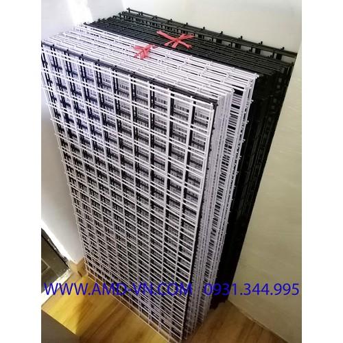 Tấm lưới không khung 0.5x1m sơn tĩnh điện màu đen