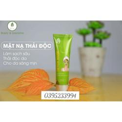 Mặt nạ thải độc da olic detox mask cam kết chính hãng - H666