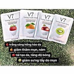 Combo 10 mặt nạ dưỡng da V7 Bioaqua