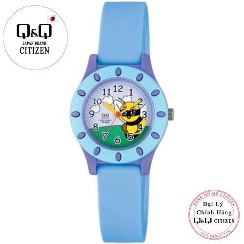 Đồng hồ trẻ em Q&Q Citizen VQ13J002Y dây nhựa thương hiệu Nhật Bản