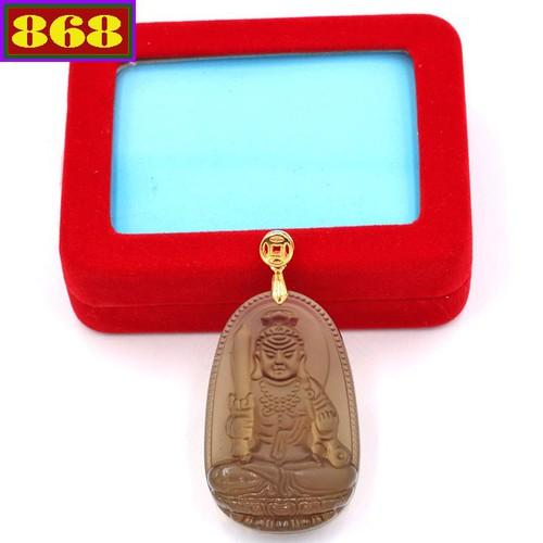 Mặt dây chuyền Phật Bất động minh vương - đá Obsidian 5cm MBNN1 - kèm hộp nhung - tuổi Dậu - 4641198 , 17156721 , 15_17156721 , 170000 , Mat-day-chuyen-Phat-Bat-dong-minh-vuong-da-Obsidian-5cm-MBNN1-kem-hop-nhung-tuoi-Dau-15_17156721 , sendo.vn , Mặt dây chuyền Phật Bất động minh vương - đá Obsidian 5cm MBNN1 - kèm hộp nhung - tuổi Dậu