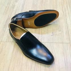 Giày Tây Không Dây Clarks đen KL20419