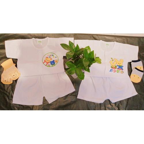 Combo 5 bộ quần áo ngắn tay_ Size 7-8