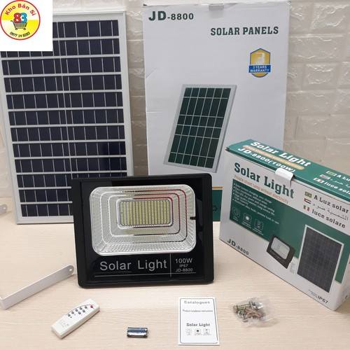 Đèn LED năng lượng mặt trời SOLAR LIGHT 100W - 7393729 , 17154529 , 15_17154529 , 1899000 , Den-LED-nang-luong-mat-troi-SOLAR-LIGHT-100W-15_17154529 , sendo.vn , Đèn LED năng lượng mặt trời SOLAR LIGHT 100W