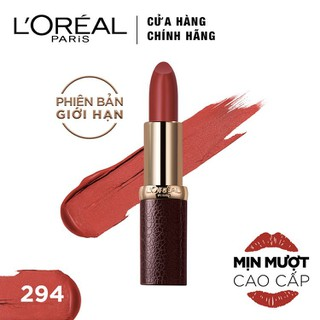Son lì mượt môi L Oreal Paris Luxe Leather 3.7g - 6902395713036 thumbnail