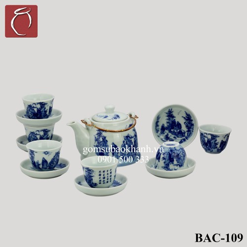 Bộ ấm chén men lam giả vuốt vẽ Trúc Lâm Thất Hiền cao cấp gốm sứ Bảo Khánh Bát Tràng - bộ bình uống trà cao cấp - 7398844 , 17156439 , 15_17156439 , 780000 , Bo-am-chen-men-lam-gia-vuot-ve-Truc-Lam-That-Hien-cao-cap-gom-su-Bao-Khanh-Bat-Trang-bo-binh-uong-tra-cao-cap-15_17156439 , sendo.vn , Bộ ấm chén men lam giả vuốt vẽ Trúc Lâm Thất Hiền cao cấp gốm sứ Bảo Kh