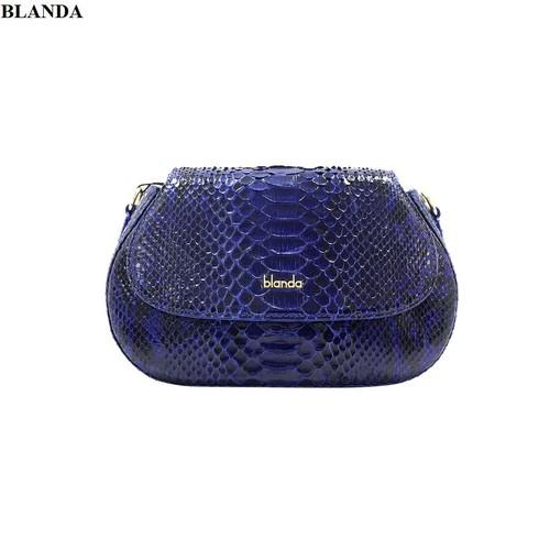 Túi đeo chéo nữ Blanda da trăn cao cấp 9TXTR22
