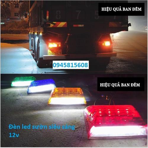 Đèn sườn xe tải 12v - 24v. Đèn hông xe tải Led siêu sáng - 7451833 , 17177586 , 15_17177586 , 50000 , Den-suon-xe-tai-12v-24v.-Den-hong-xe-tai-Led-sieu-sang-15_17177586 , sendo.vn , Đèn sườn xe tải 12v - 24v. Đèn hông xe tải Led siêu sáng