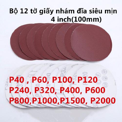 Giấy nhám đĩa siêu mịn