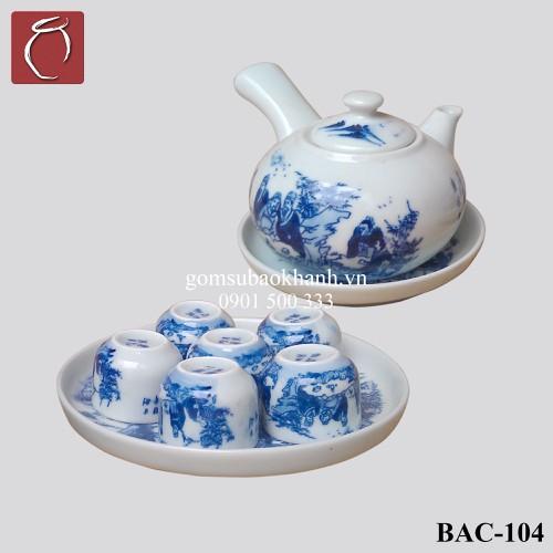 Bộ ấm chén men lam quai ngang vẽ Trúc Lâm Thất Hiền  cao cấp gốm sứ Bảo Khánh Bát Tràng - bộ bình uống trà cao cấp - 4815593 , 17157572 , 15_17157572 , 620000 , Bo-am-chen-men-lam-quai-ngang-ve-Truc-Lam-That-Hien-cao-cap-gom-su-Bao-Khanh-Bat-Trang-bo-binh-uong-tra-cao-cap-15_17157572 , sendo.vn , Bộ ấm chén men lam quai ngang vẽ Trúc Lâm Thất Hiền  cao cấp gốm sứ B