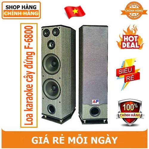 Loa karaoke 680W AP Audio F-6800 - Hàng chính hãng