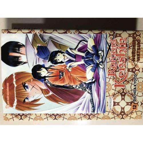 Ruroni Kenshin tập 12 bìa rời New