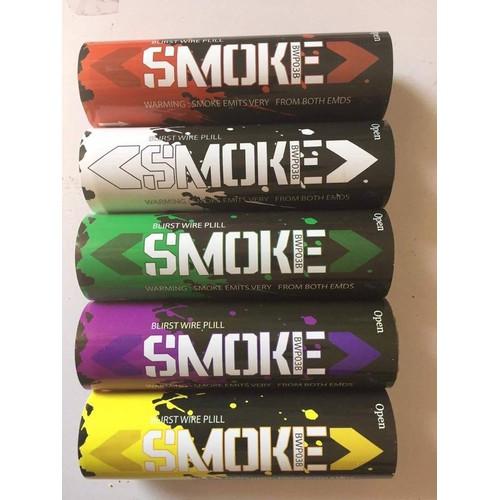 Pháo khói màu chụp ảnh 60s 5 màu 5 quả