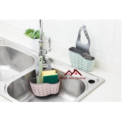 [Loại tốt] Khay nhựa dẻo hai lớp để vật dụng rửa chén, nhà tắm