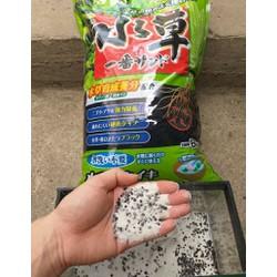 Phân nền bể cá trộn sẵn 0,5kg - 2 cát trắng + 1 Gex xanh Nhật