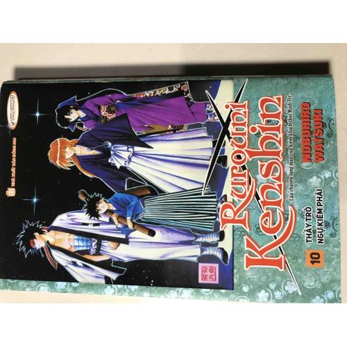 Ruroni Kenshin tập 10 Bìa rời New